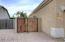 Oversized Side Gate