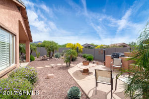 Low maintenance beautiful landscaping, AND enjoy the Superstition Mountain VIEW from this gorgeous location.