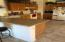 Large kitchen with ample cabinets and work area