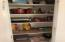 Pantry for extra storage