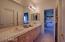 Large, full Jack-n-Jill bathroom for bedrooms 3 & 4.