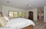 Truly spacious Master Suite with new flooring.