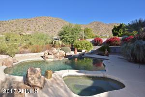More AMAZING mountain views from the resort-like backyard!