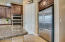 Walk-in pantry, all stainless appliances