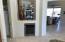Wine and beverage fridge in kitchen!
