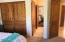 Another view of Guest Bedroom #2 showing off the Alder doors!