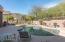 Backyard oasis with mountain views