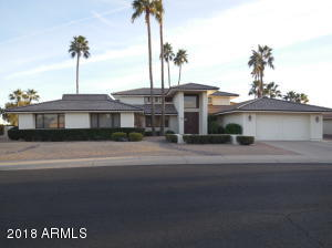 13419 W Gable Hill Dr, SanFelipe floor plan, with pool and magnificent golf course view.