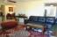 Living room from front door