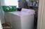 Laundry room/storage area