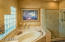 SOAKING TUB, SEPARATE SHOWER & PRIVATE TOILET ROOM