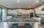Large Kitchen Island with counter-height tabletop extension