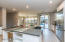 Kitchen opens to Family Room, Breakfast Room, Dining & Living Rooms