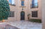 Large interior courtyard entry area