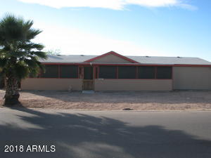 Great opportunity for investor. Tenant has a lease until October 31,2018. Located very close to US60 Freeway in Superstition Country community. Close to all amenities. Corner lost with a spacious backyard and mountain views. 3 Bedroom 2 Bath home with an open floor plan. Large kitchen that opens into the dining area and living room. Ceiling fans. New screened Arizona Room that is most of the length of the front of the house and a covered patio in the rear. There is a fee for garbage collection of $72.50 quarterly.