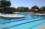 Huge resort pool with 3 swim lanes