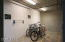 No need to lug your bike up the elevator & take up precious space. Keep it downstairs!