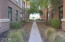 Just across the way, take the path to the golf course gate and walk for miles.