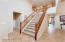 BEAUTIFUL GRAND ENTRY SPLIT LEVEL STAIRCASE TO SECOND LEVEL