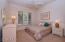 Large bedrooms and light and private space