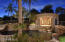 Pool house, outdoor shower, built in BBQ grill