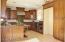 Beautiful granite countertops and breakfast bar