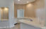 Wet bar with pass through. Wine and standard refrigerators