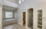 Inviting soaking tub and walk-in shower in the master