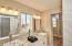 Master Bath Designer Cabinets and Fixtures