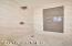 Master Bath Shower with Designer Tile Detail