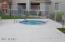 Gated Jacuzzi off pool