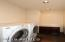 SPACIOUS WELL-LIT LAUNDRY ROOM!