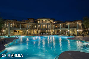 This is the largest pool. Gorgeous night view.
