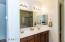 Guest Bath has dual vanities
