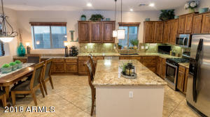 Chef's Dream Kitchen! Upgrades galore, granite island, countertops, splashes, knotty alder raised panel cabinets