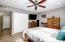 Spacious Master bedroom with room for a huge King sized bed!!