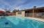 Large pool is perfect for cooling off during the summer!