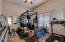 Huge 4th Bedroom, currently used as gym- has its own bath and closet