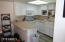 Kitchen with Refrigerator, Stove, Built-in Microwave ,Dishwasher