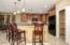 Gorgeous maple cabinets with under cabinet lighting