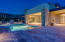 Patio offers dual fireplace, bbq, and ample sized pool and spa.