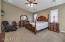 Huge master bed room! Ceiling fans though out the home.