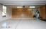 Clean Epoxy Garage with Storage
