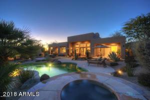 Full resort backyard