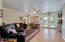 Enjoy your new family room with double door access to back yard and pool area