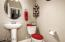 Powder room for your guests while entertaining