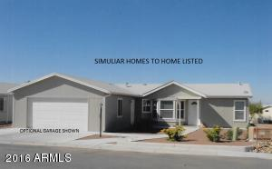 Simuliar Exterior Elevation with Optional Garage. 20' x 24' Carport is Standard.