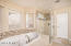Soaking tub and oversize walk-in shower