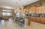 Large kitchen and breakfast bar