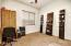 Bedroom /Office with oversized closet